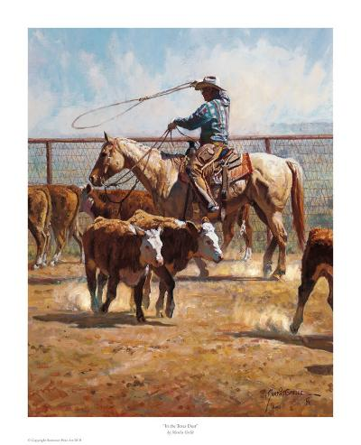 In the Texas Dust-Martin Grelle-Art Print