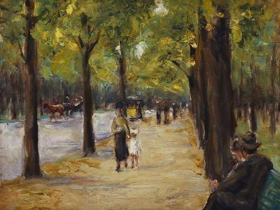 In the Tiergarten, Berlin-Max Liebermann-Giclee Print