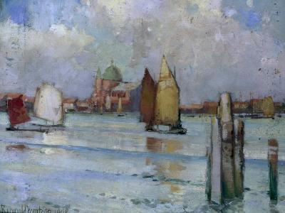 In the Venetian Lagoon, 1902-Edward Reginald Frampton-Giclee Print