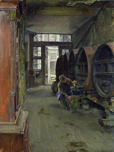 In the Vinegar Factory in Hamburg, 1891-Gotthardt Johann Kuehl-Giclee Print