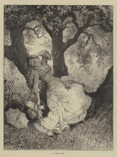 In the Wood--Giclee Print