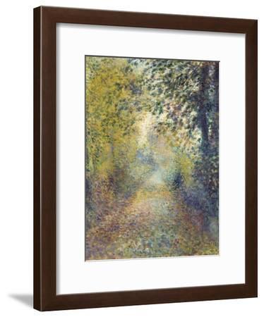 In the Woods, C. 1880-Pierre-Auguste Renoir-Framed Giclee Print