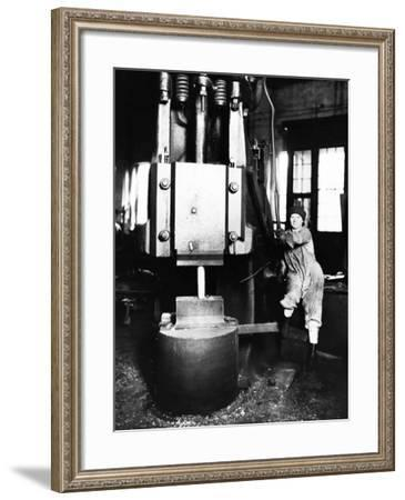In the Workshop: Metal Work--Framed Photographic Print