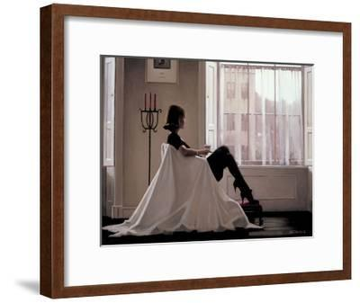 In Thoughts of You-Jack Vettriano-Framed Art Print