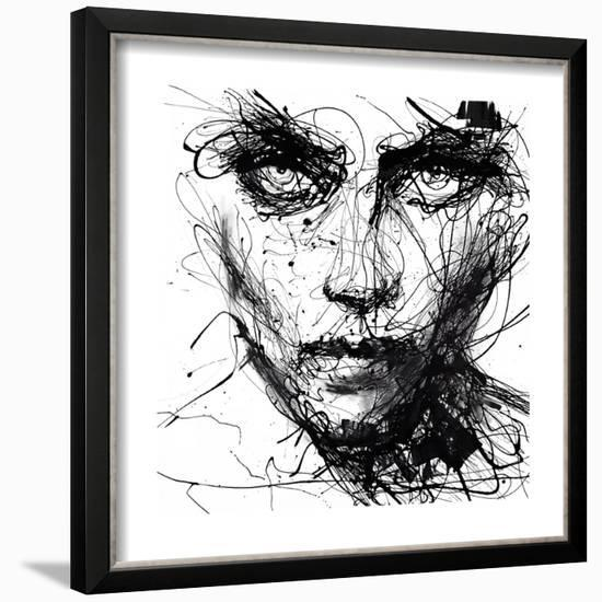 In Trouble, She Will-Agnes Cecile-Framed Art Print