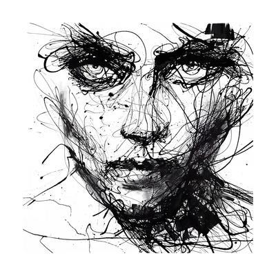 In Trouble, She Will-Agnes Cecile-Art Print