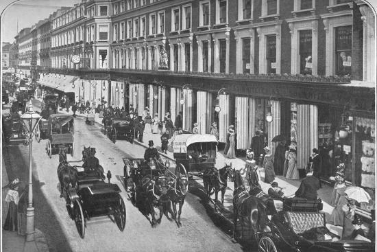 In Westbourne Grove, Notting Hill, London, c1903 (1903)-Unknown-Photographic Print
