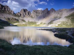 Acherito Lake in the Pyrenees Mountains, Spain by Inaki Relanzon