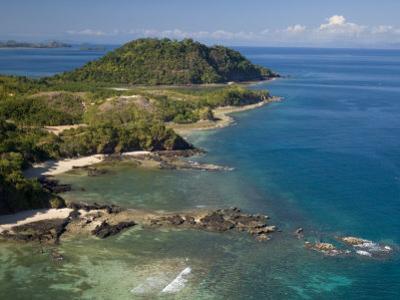 Coast at Nosy Be with Several Small Bays, North Madagascar