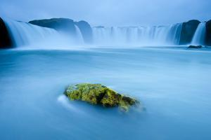 Long Exposure Of Godafoss Waterfall, Iceland by Inaki Relanzon