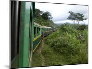 Train Travelling Betwen Manakara and Fianarantsoa, Madagascar by Inaki Relanzon