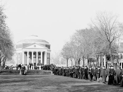 Inauguration Day, University of Virginia--Photo