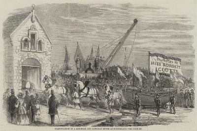 Inauguration of a Life-Boat and Life-Boat House at Sunderland--Giclee Print