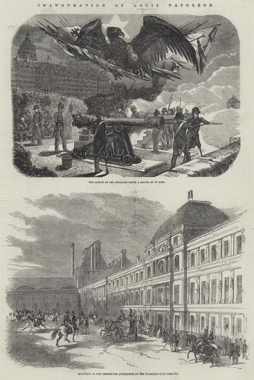Inauguration of Louis Napoleon--Giclee Print