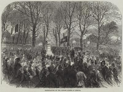 Inauguration of the Dinham Statue at Exeter--Giclee Print
