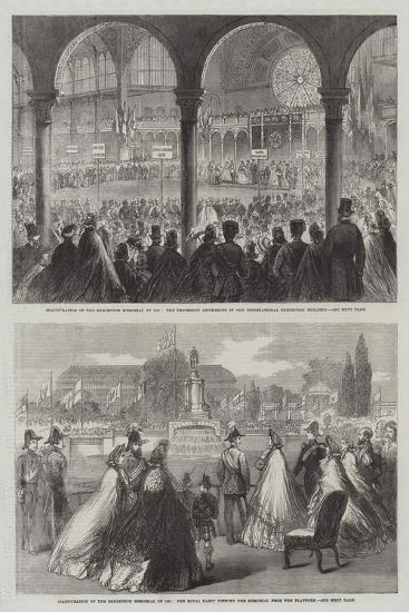 Inauguration of the Exhibition Memorial of 1851--Giclee Print