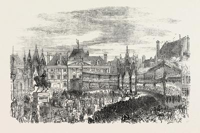 Inauguration of the Statue of Joan of Arc at Orleans, France--Giclee Print