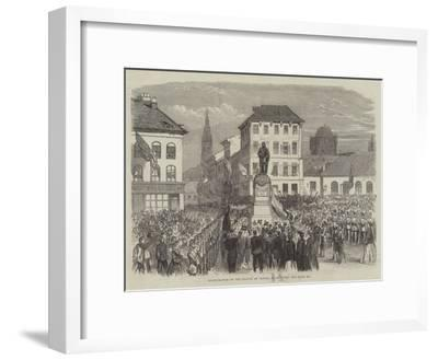 Inauguration of the Statue of Teniers at Antwerp