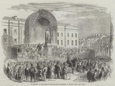 Inauguration of the Statue of the Late Earl of Belfast, at Belfast--Giclee Print