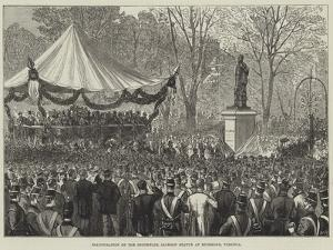 Inauguration of the Stonewall Jackson Statue at Richmond, Virginia