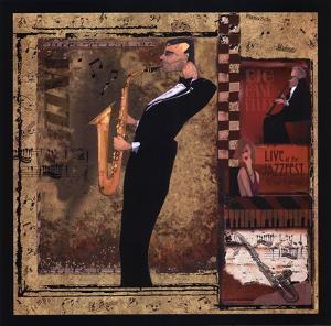 Jazz Sax - Mini by Inc. CW Designs