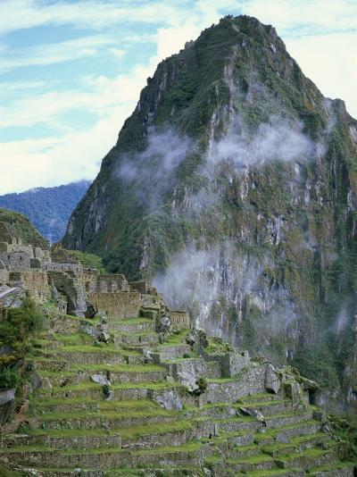 Inca Archaeological Site of Machu Picchu, Unesco World Heritage Site, Peru, South America-Oliviero Olivieri-Photographic Print