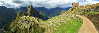 Inca City of Machu Picchu with Urubamba River, Urubamba Province, Cusco, Peru--Photographic Print