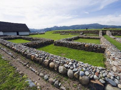 Inca Ruins, Historic Centre of Santa Ana De Los Rios De Cuenca, Cuenca, Ecuador-Christian Kober-Photographic Print
