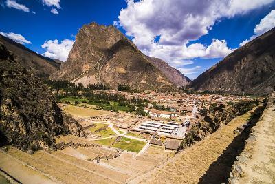 Inca Ruins of Ollantaytambo, Sacred Valley of the Incas (Urubamba Valley), Near Cusco, Peru-Matthew Williams-Ellis-Photographic Print