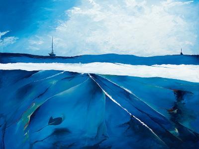 Incandescent Seascape-Candice Tait-Art Print