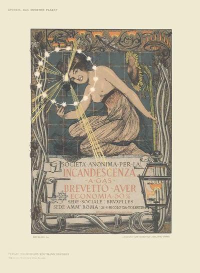 Incandescenza a Gas-Giovanni Mataloni-Collectable Print