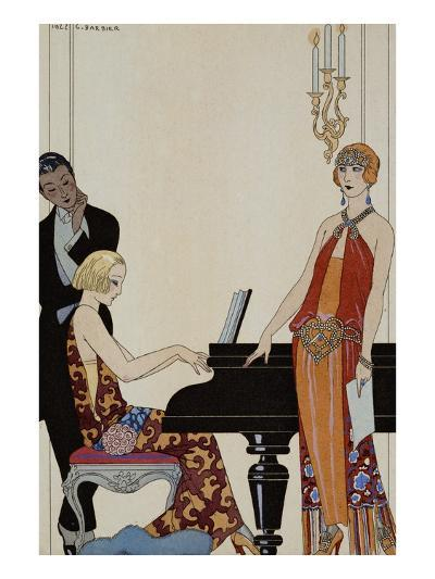 Incantation-Georges Barbier-Giclee Print