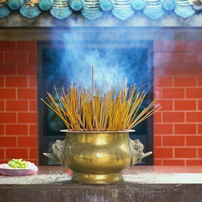 Incense Burning-Reed Kaestner-Photographic Print