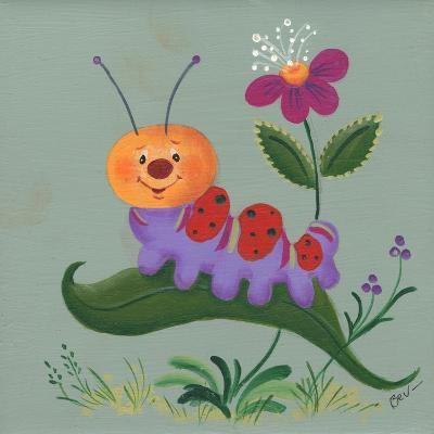 Inch Worm-Beverly Johnston-Giclee Print