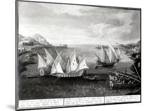 Incident Off Patras Between the Venetian Captain Ivanovich Da Dabrota and the Turkish Pirate…