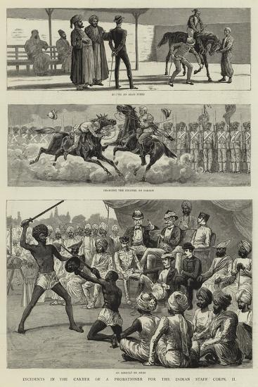 Incidents in the Career of a Probationer for the Indian Staff Corps, Ii--Giclee Print