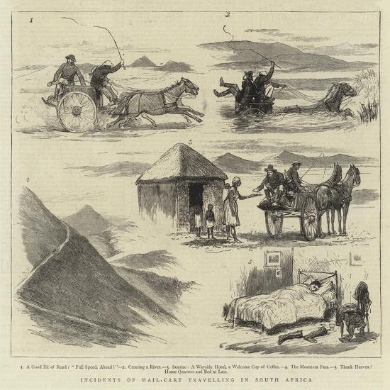 Incidents of Mail-Cart Travelling in South Africa--Giclee Print