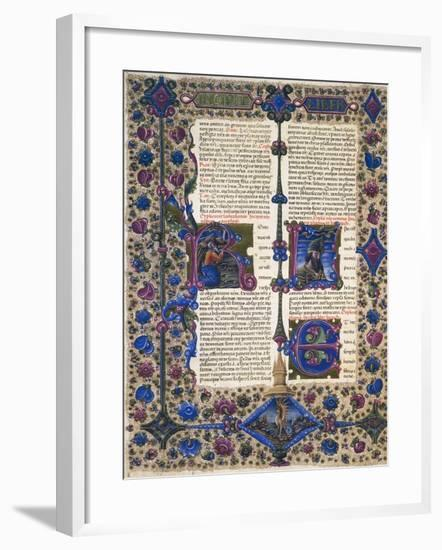 Incipit from Book of Prophet Baruch--Framed Giclee Print