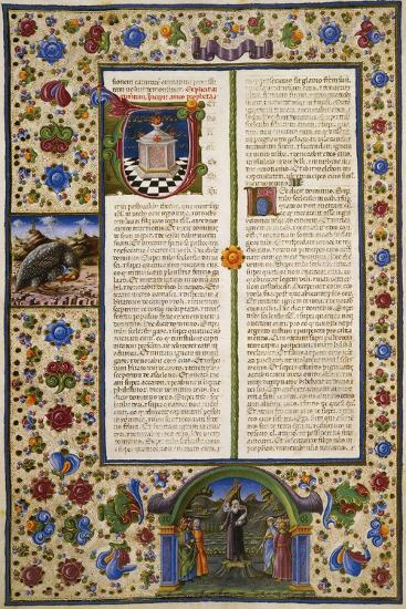 Incipit from First Book of Maccabees--Giclee Print
