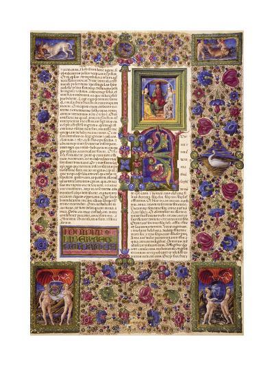 Incipit from First Book of Samuel--Giclee Print