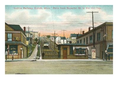Incline Railway, Duluth, Minnesota--Art Print