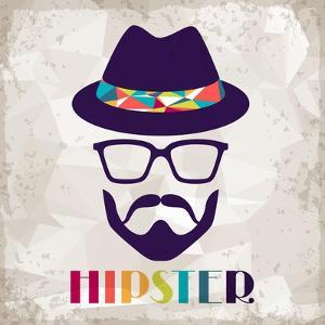 Hipster Background In Retro Style by incomible