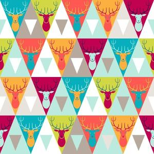 Hipster Style Seamless Pattern by incomible