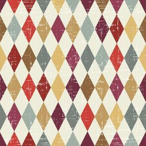 Seamless Abstract Retro Pattern. Stylish Geometric Background by incomible