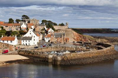 Incoming Tide at Crail Harbour, Fife, Scotland, United Kingdom, Europe-Mark Sunderland-Photographic Print