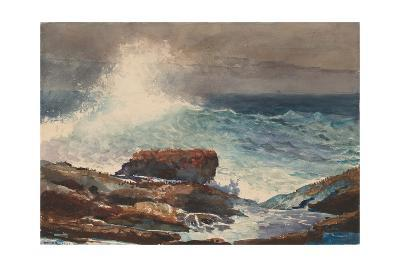 Incoming Tide, Scarboro, Maine, 1883-Winslow Homer-Giclee Print