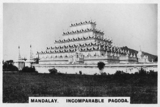 Incomparable Pagoda, Mandalay, Burma, C1925--Giclee Print