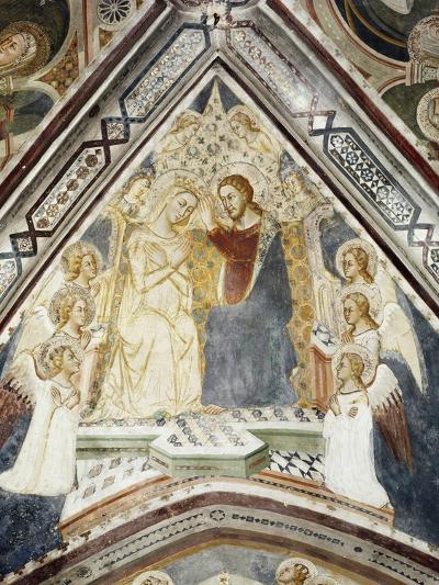 Incoronation of Mary, from Master Trecentesco School--Giclee Print