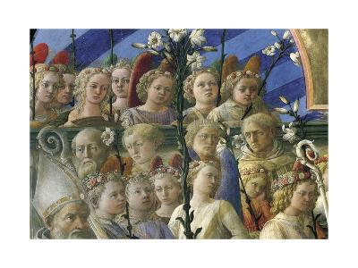 Incoronazione Maringhi or Coronation of Virgin-Filippo Lippi-Giclee Print