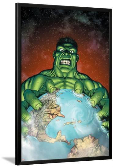 Incredible Hulk No.106 Cover: Hulk-Gary Frank-Lamina Framed Poster